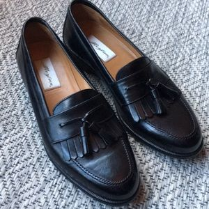 Mezlan black loafers